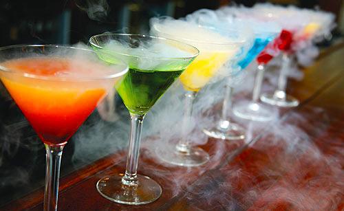 Cocktails Moléculaires • Explosive Touch